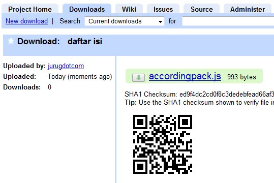 cara menggunakan google hosting codes