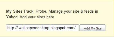 Cara Menambah Meta Tag Yahoo di Blogspot